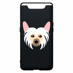 Phone case for Samsung A80 Chinese Crested Dog - PrintSalon