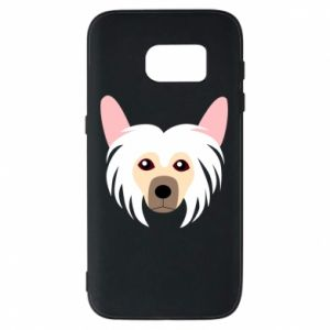 Phone case for Samsung S7 Chinese Crested Dog - PrintSalon