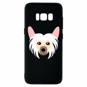 Phone case for Samsung S8 Chinese Crested Dog - PrintSalon