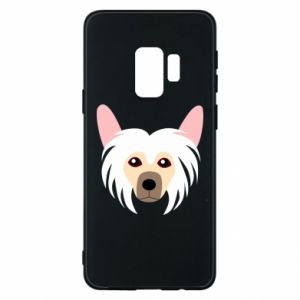 Phone case for Samsung S9 Chinese Crested Dog - PrintSalon