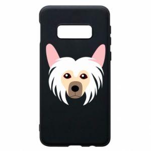 Phone case for Samsung S10e Chinese Crested Dog - PrintSalon