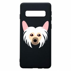 Phone case for Samsung S10 Chinese Crested Dog - PrintSalon