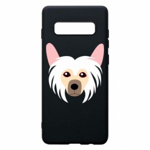 Phone case for Samsung S10+ Chinese Crested Dog - PrintSalon