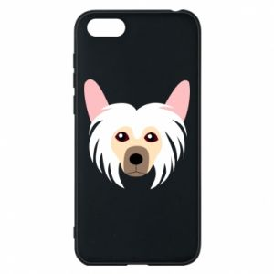 Phone case for Huawei Y5 2018 Chinese Crested Dog - PrintSalon