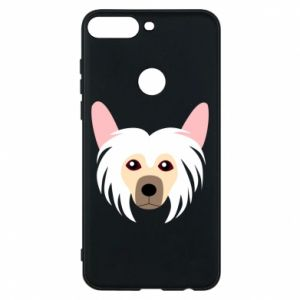 Phone case for Huawei Y7 Prime 2018 Chinese Crested Dog - PrintSalon