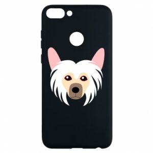 Phone case for Huawei P Smart Chinese Crested Dog - PrintSalon