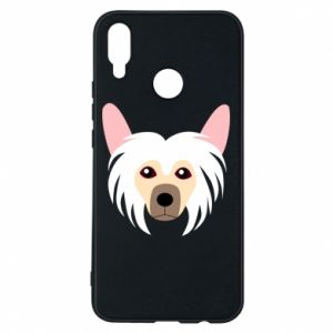 Phone case for Huawei P Smart Plus Chinese Crested Dog - PrintSalon