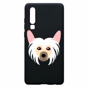 Phone case for Huawei P30 Chinese Crested Dog - PrintSalon