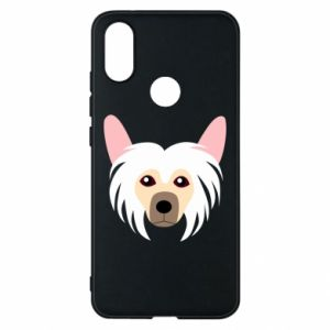 Phone case for Xiaomi Mi A2 Chinese Crested Dog - PrintSalon