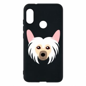 Phone case for Mi A2 Lite Chinese Crested Dog - PrintSalon