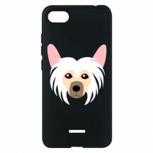 Phone case for Xiaomi Redmi 6A Chinese Crested Dog - PrintSalon