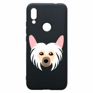 Phone case for Xiaomi Redmi 7 Chinese Crested Dog - PrintSalon