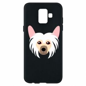 Phone case for Samsung A6 2018 Chinese Crested Dog - PrintSalon