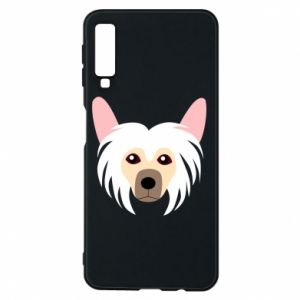 Phone case for Samsung A7 2018 Chinese Crested Dog - PrintSalon