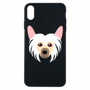 Phone case for iPhone Xs Max Chinese Crested Dog - PrintSalon