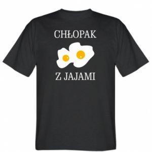 Koszulka męska Chlopak z jajami