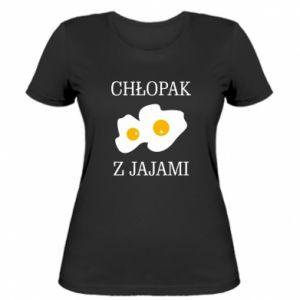 Damska koszulka Chlopak z jajami