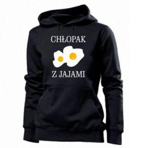 Bluza damska Chlopak z jajami