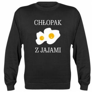 Bluza (raglan) Chlopak z jajami