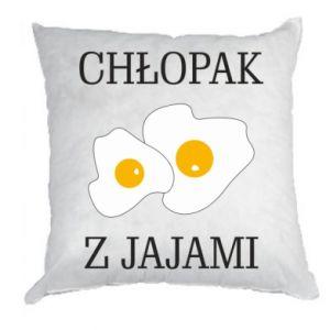 Poduszka Chlopak z jajami