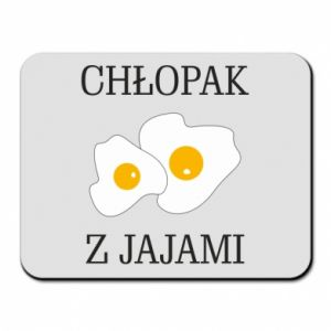 Mouse pad Boy with eggs