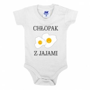 Body dla dzieci Chlopak z jajami