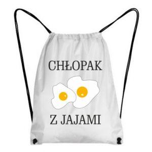 Plecak-worek Chlopak z jajami