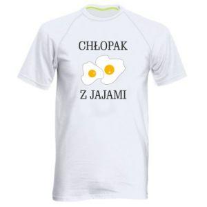 Męska koszulka sportowa Chlopak z jajami