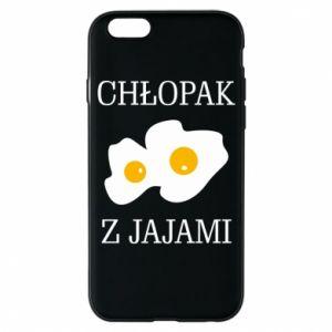 Etui na iPhone 6/6S Chlopak z jajami