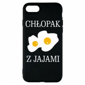 Etui na iPhone 7 Chlopak z jajami