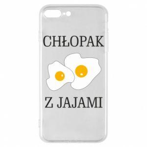 Etui na iPhone 7 Plus Chlopak z jajami