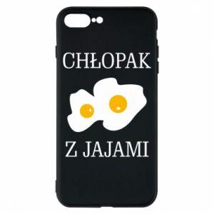 Etui na iPhone 8 Plus Chlopak z jajami