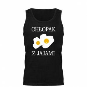 Męska koszulka Chlopak z jajami