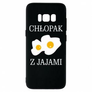 Etui na Samsung S8 Chlopak z jajami