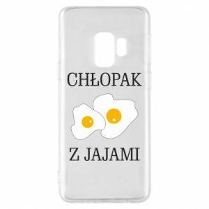 Etui na Samsung S9 Chlopak z jajami