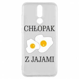 Etui na Huawei Mate 10 Lite Chlopak z jajami