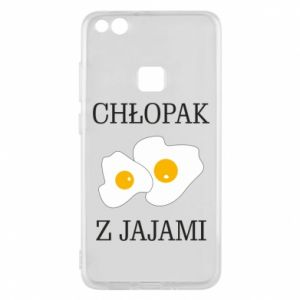 Etui na Huawei P10 Lite Chlopak z jajami