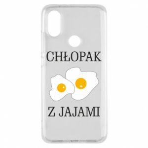 Etui na Xiaomi Mi A2 Chlopak z jajami