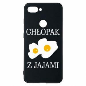 Etui na Xiaomi Mi8 Lite Chlopak z jajami