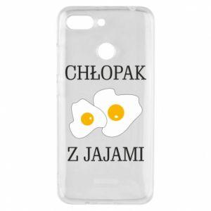 Etui na Xiaomi Redmi 6 Chlopak z jajami