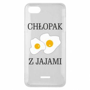 Etui na Xiaomi Redmi 6A Chlopak z jajami