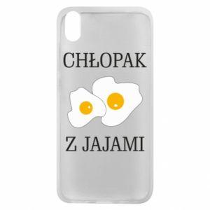 Etui na Xiaomi Redmi 7A Chlopak z jajami