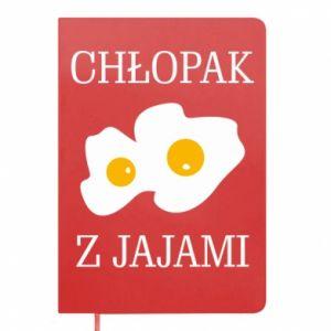 Notes Chlopak z jajami