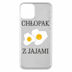 Etui na iPhone 11 Chlopak z jajami