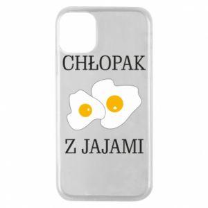Etui na iPhone 11 Pro Chlopak z jajami