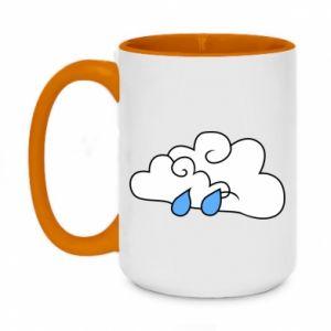 Kubek dwukolorowy 450ml Chmura