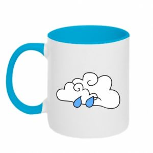 Two-toned mug Cloud