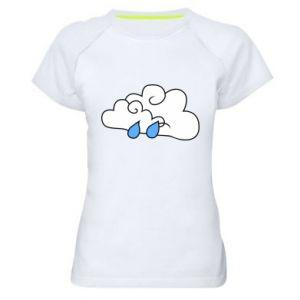Koszulka sportowa damska Chmura