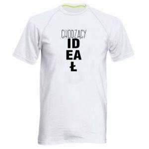 Męska koszulka sportowa Chodzący ideał