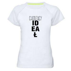 Damska koszulka sportowa Chodzący ideał